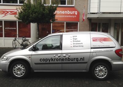 Copy Kronenburg Bedrijfswagen