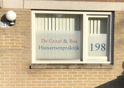 Copy Kronenburg Gevelreklame Huisarts de Graaf en Bos